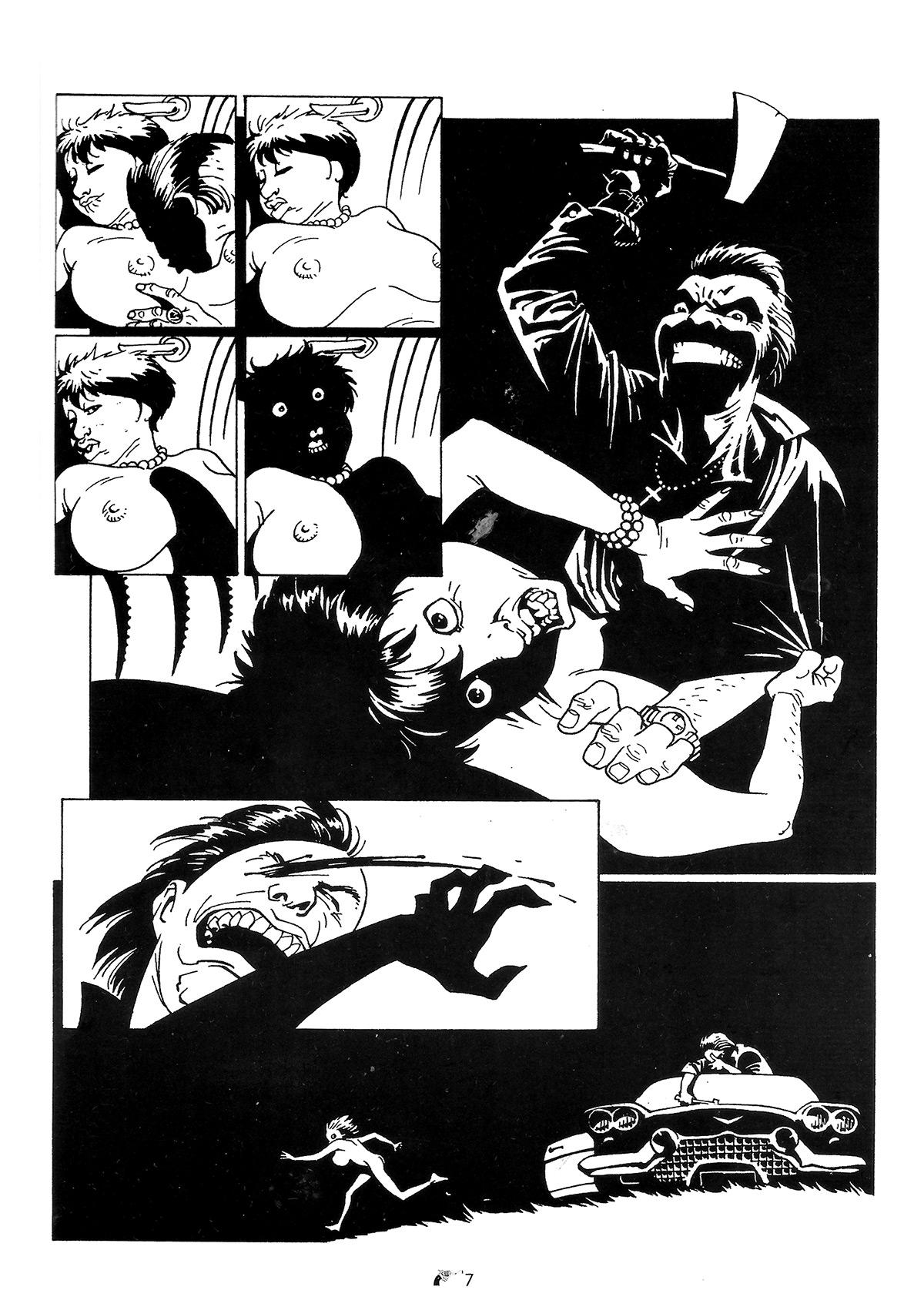 historieta revolver - chicanos - carlos trillo - eduardo risso