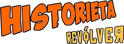 Historieta Revólver Logo
